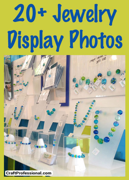 Over 20 jewelry display photos