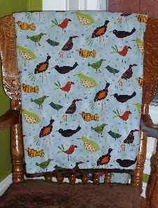 Crib Blanket Pattern