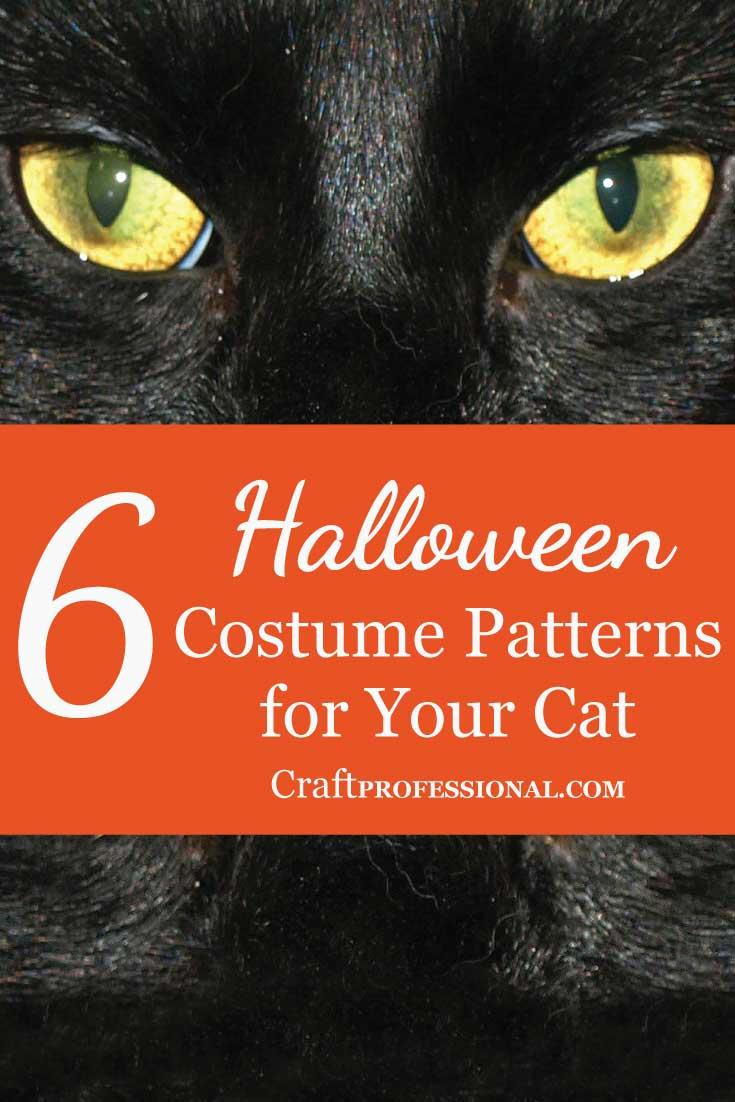 7 Cat Halloween Costume Patterns