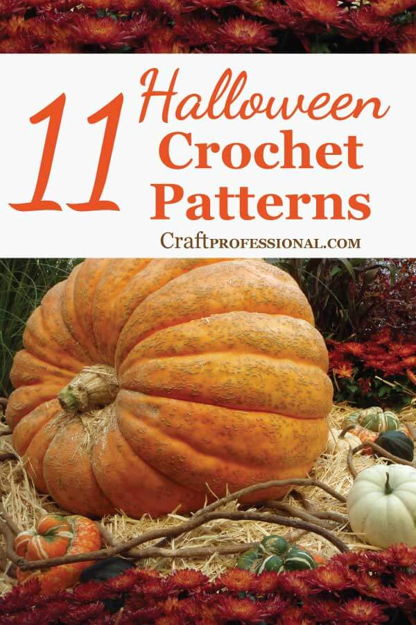 11 Halloween Crochet Patterns by Talented Etsy Designers