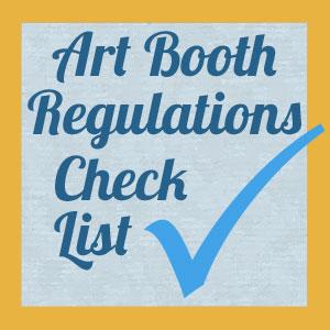 Craft booth regulations checklist