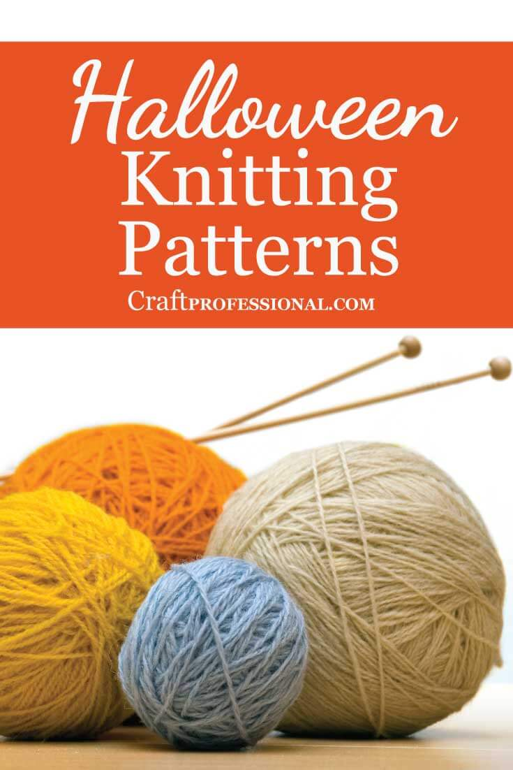 Halloween Knitting Patterns by Talented Etsy Designers