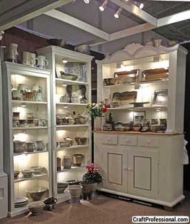 Craft show booth ideas for How to make display shelves for craft show