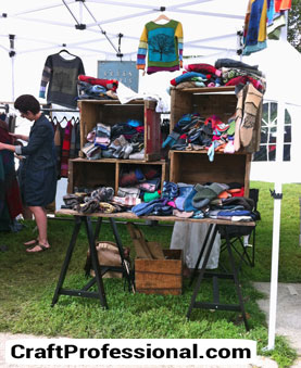 Knitwear booth