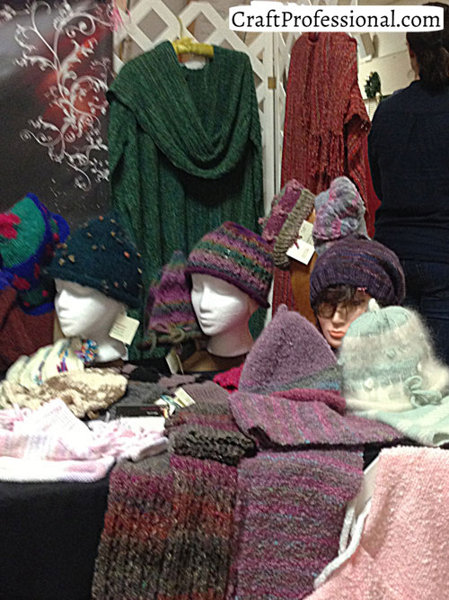 Knitting Items To Sell : Knitting and crochet craft fair booths
