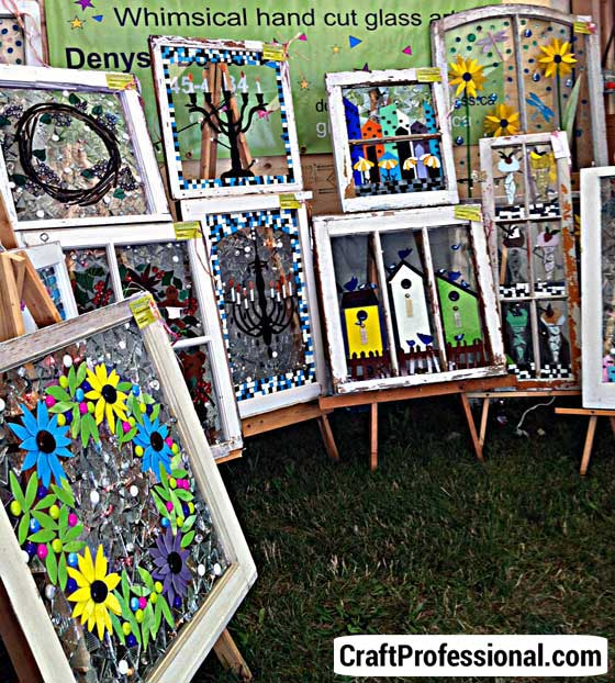 Craft booth display ideas and photos