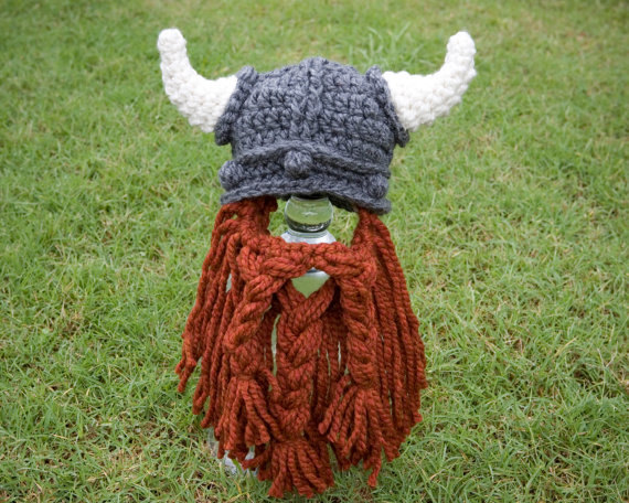 Viking beard hat pattern by The Twisted K on Etsy