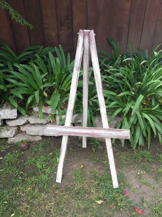 Display easel at From Kelly with Love