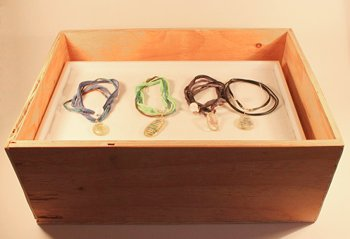 Jewelry Trays in Display Risers