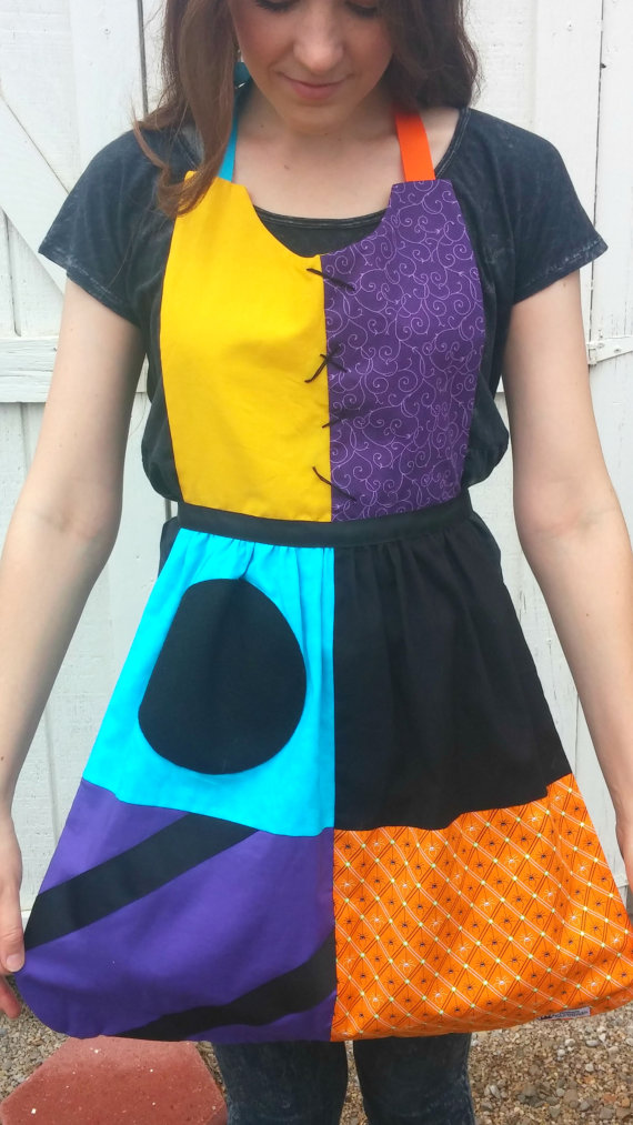 Nightmare Before Christmas apron pattern by Queen Elizabeth Aprons