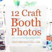 Craft Booth Design Using Tables
