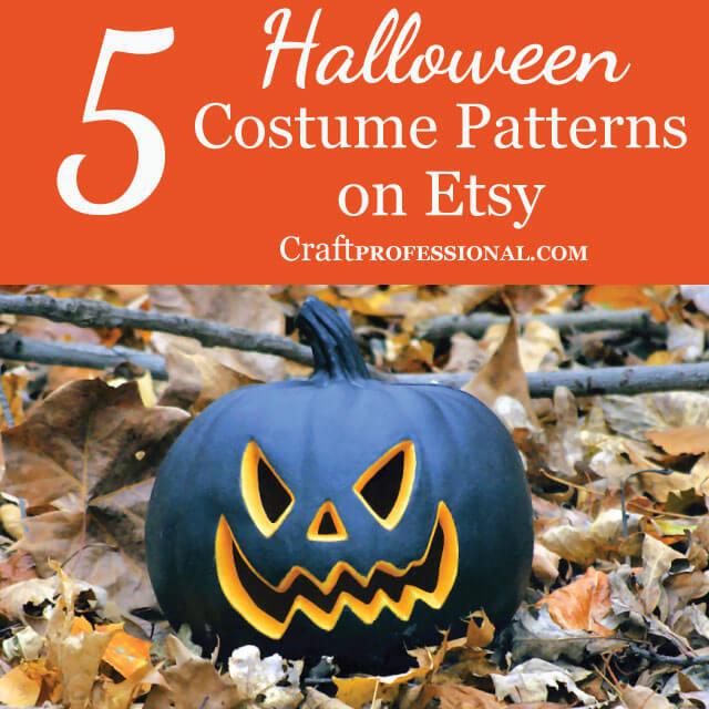 5 Halloween Costume Patterns on Etsy