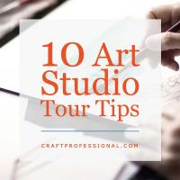 10 Artist Studio Tour Tips