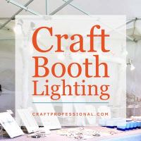 Craft Booth Lighting