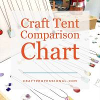 Craft Tent Comparison Chart