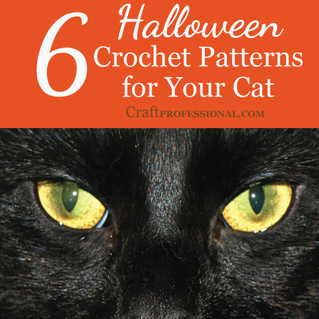 6 Halloween Crochet Patterns for Your Cat