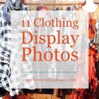 11 Clothing Display Photos