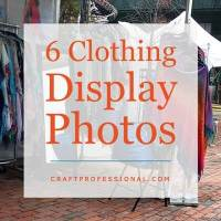 6 Clothing Display Booths