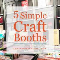 5 Simple Craft Booths