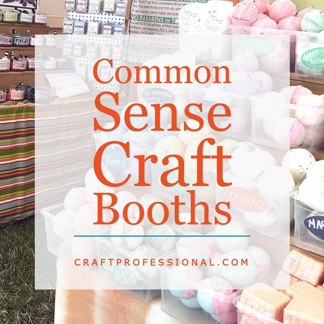 Common Sense Craft Booths