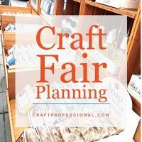 Craft Fair Packing List