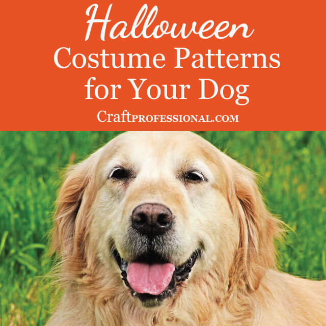 Halloween Costume Patterns for Your Dog