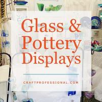 Pottery and Glass Displays