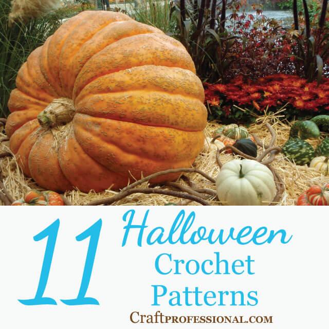 11 Halloween Crochet Patterns