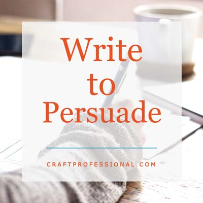 Persuasive Online Copywriting for Craft Professionals