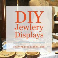 DIY Portable Jewelry Display Ideas