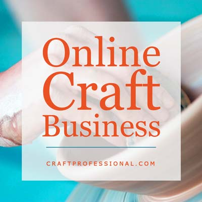 Online craft business - Text overlay