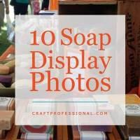 Handmade Soap Display