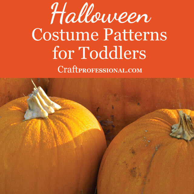 Halloween Costume Patterns for Toddlers