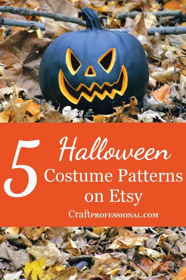 Adult Halloween Costume Patterns