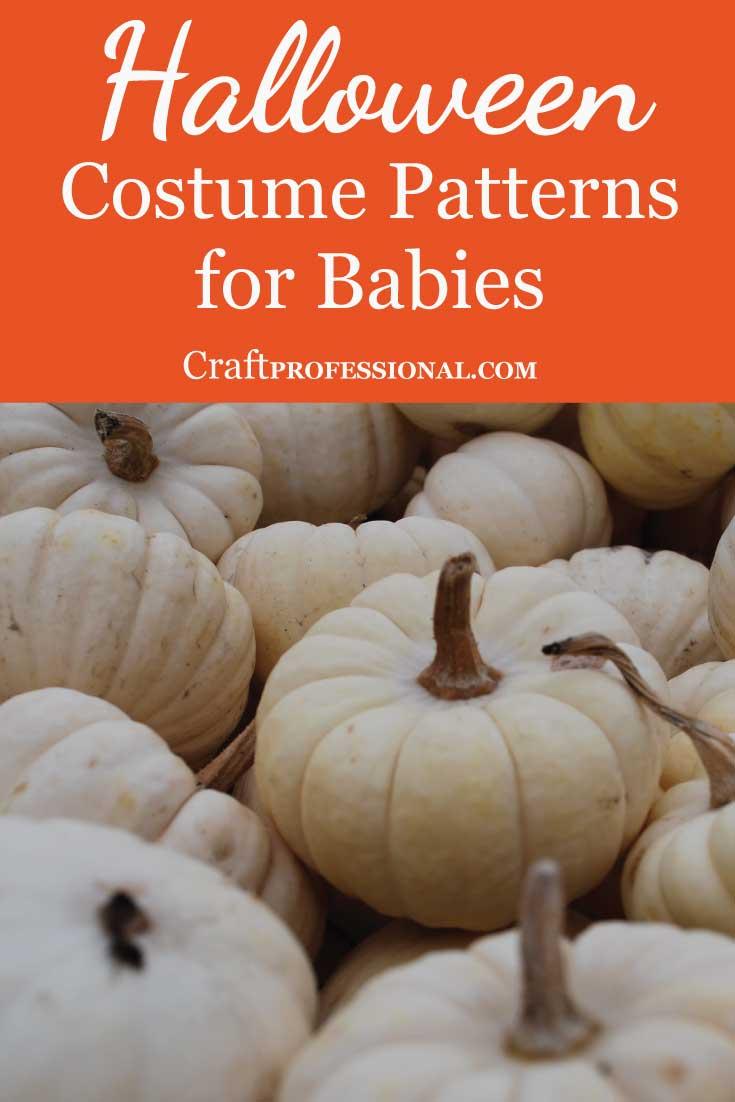 Baby Halloween Costume Patterns