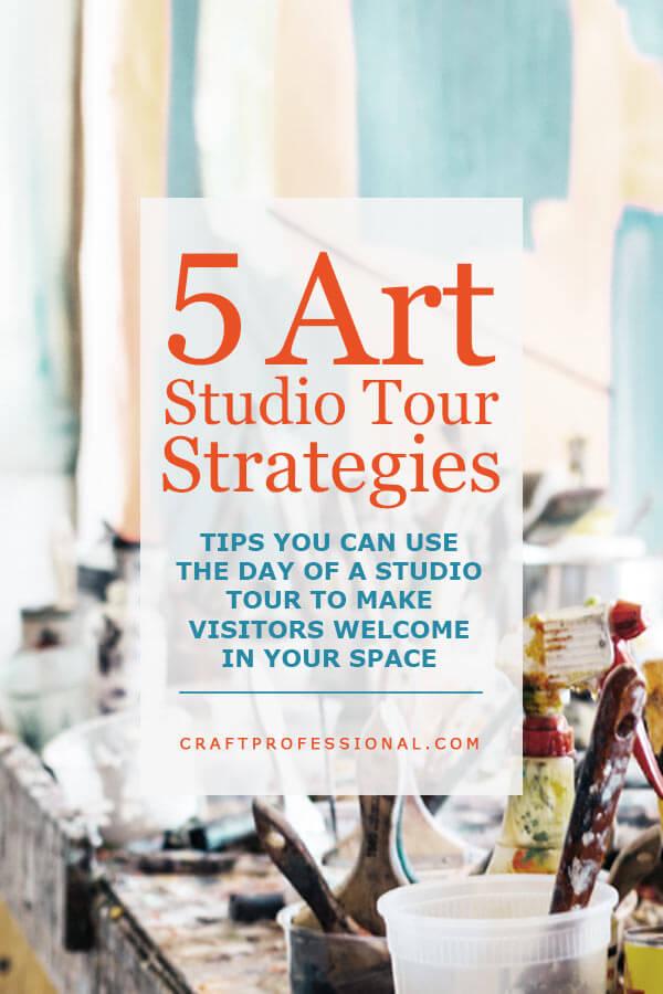 Art Studio Tour Tips