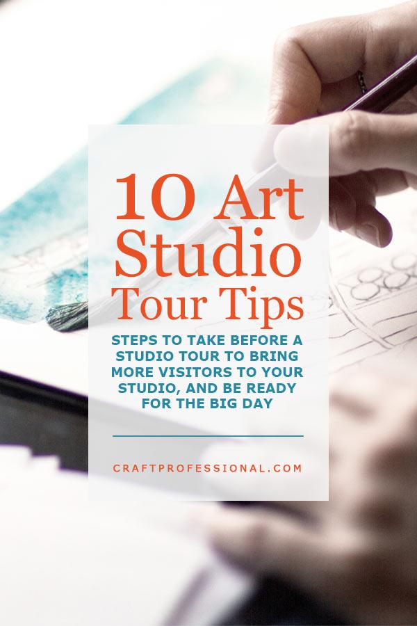 Artist Studio Tour Tips