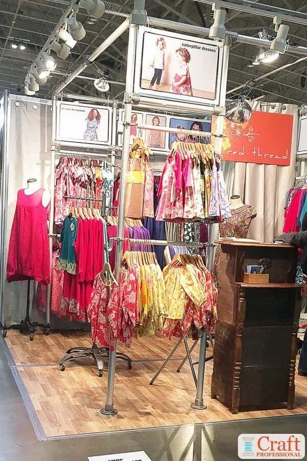 Handmade Clothing Display