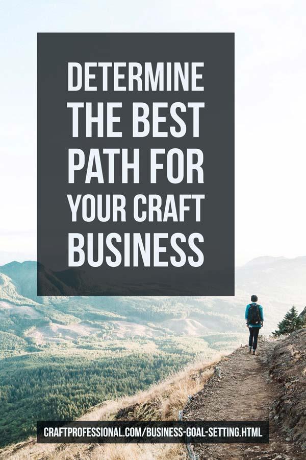 Craft Business Goal Setting