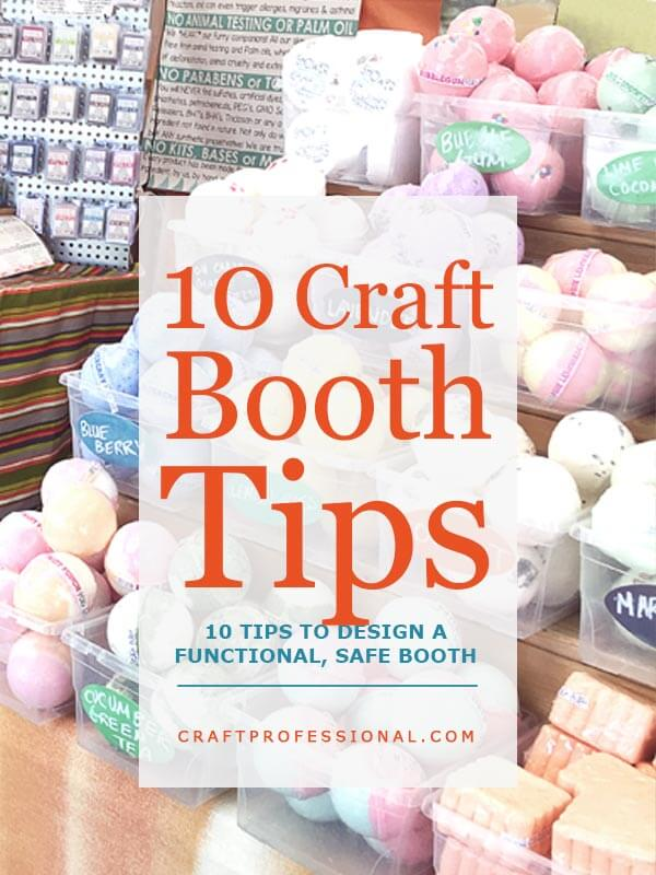 Craft Booth Display Tips