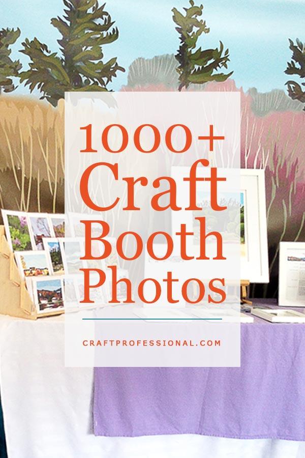 Hundreds of craft display booth photos.