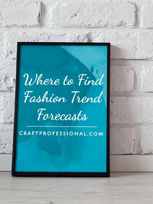 Fashion Trend Forecasting Sources