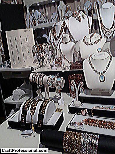 Handmade Jewelry Booth