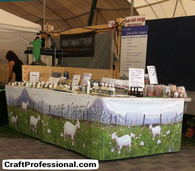 Creative Display Table Covers