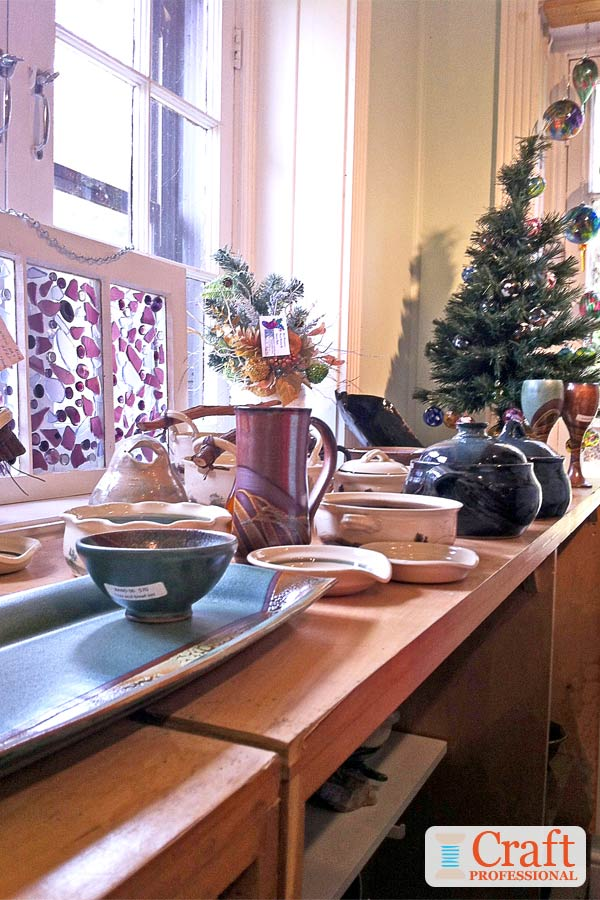 Christmas Craft Display