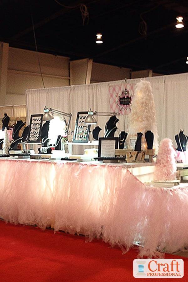 Jewelry Booth Design