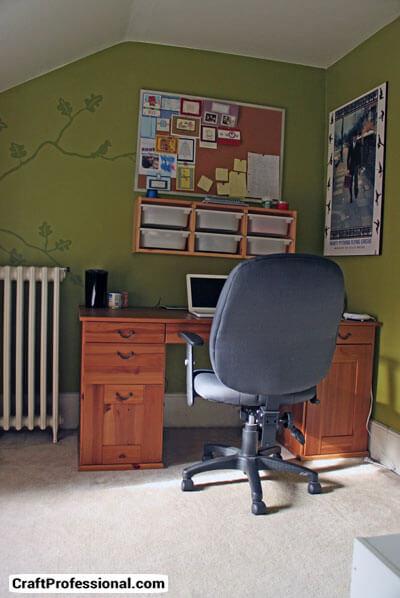 My craft room / office