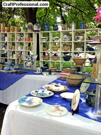 Outdoor Craft Booth