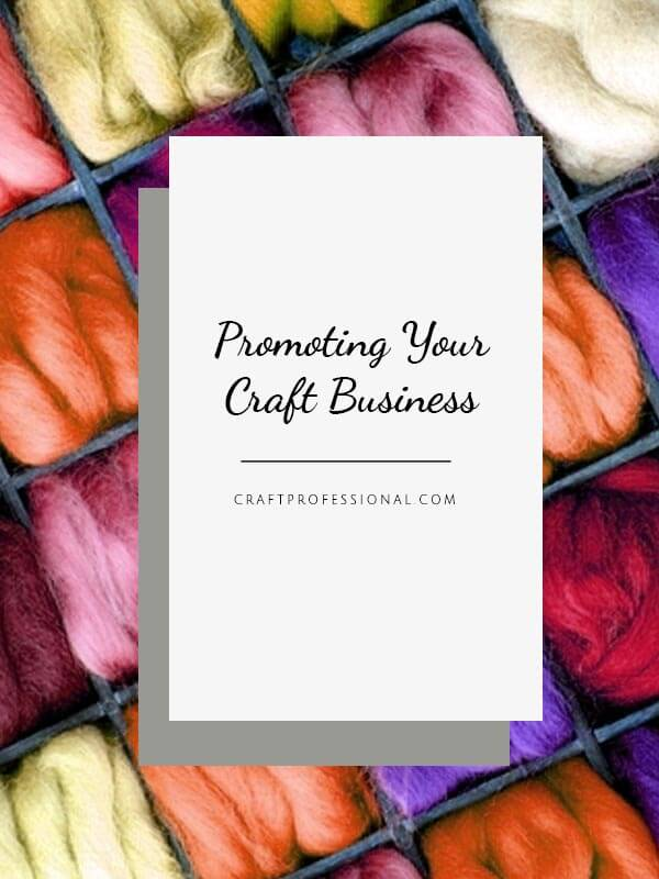 Promote your crafts with marketing materials