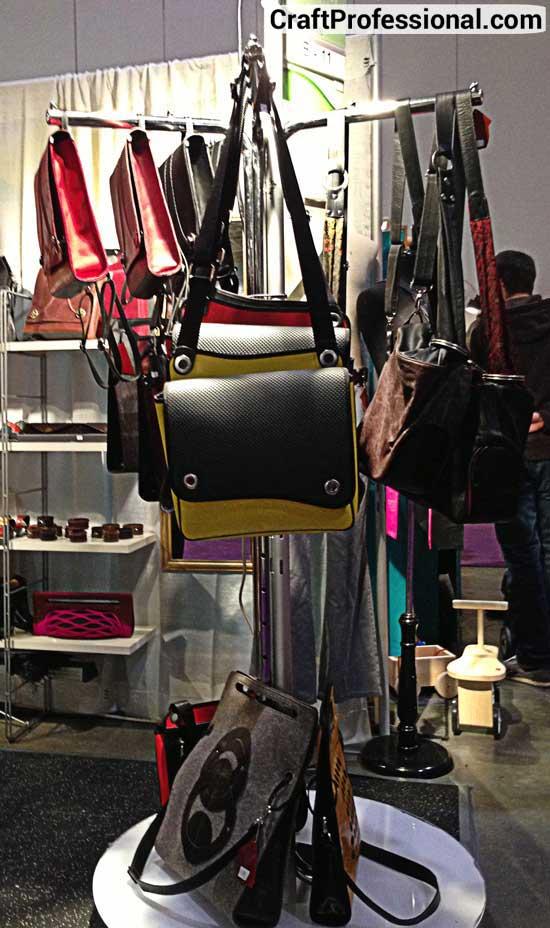 Purse display rack